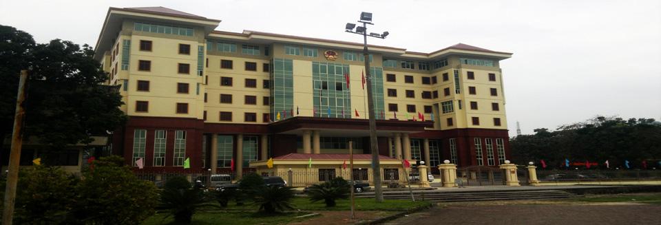 Trụ sở làm việc HĐND - UBND tỉnh Hà Giang