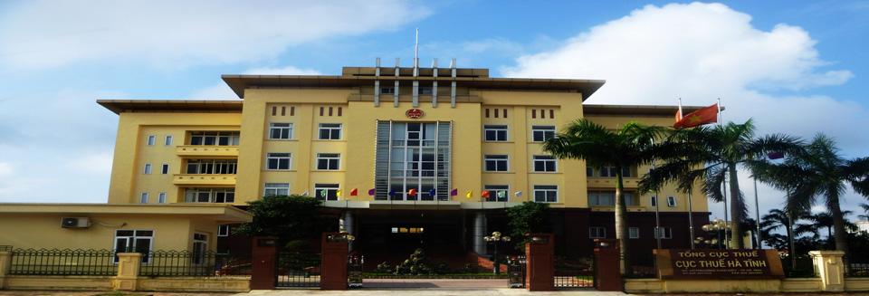 Trụ sở làm việc Cục thuế tỉnh Hà Tĩnh