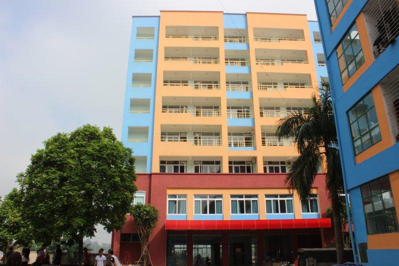 Trường Cao đẳng kinh tế tài chính Thái Nguyên tổ chức lễ cắt băng khánh thành công trình Tòa nhà lưu sinh viên Lào - Campuchia