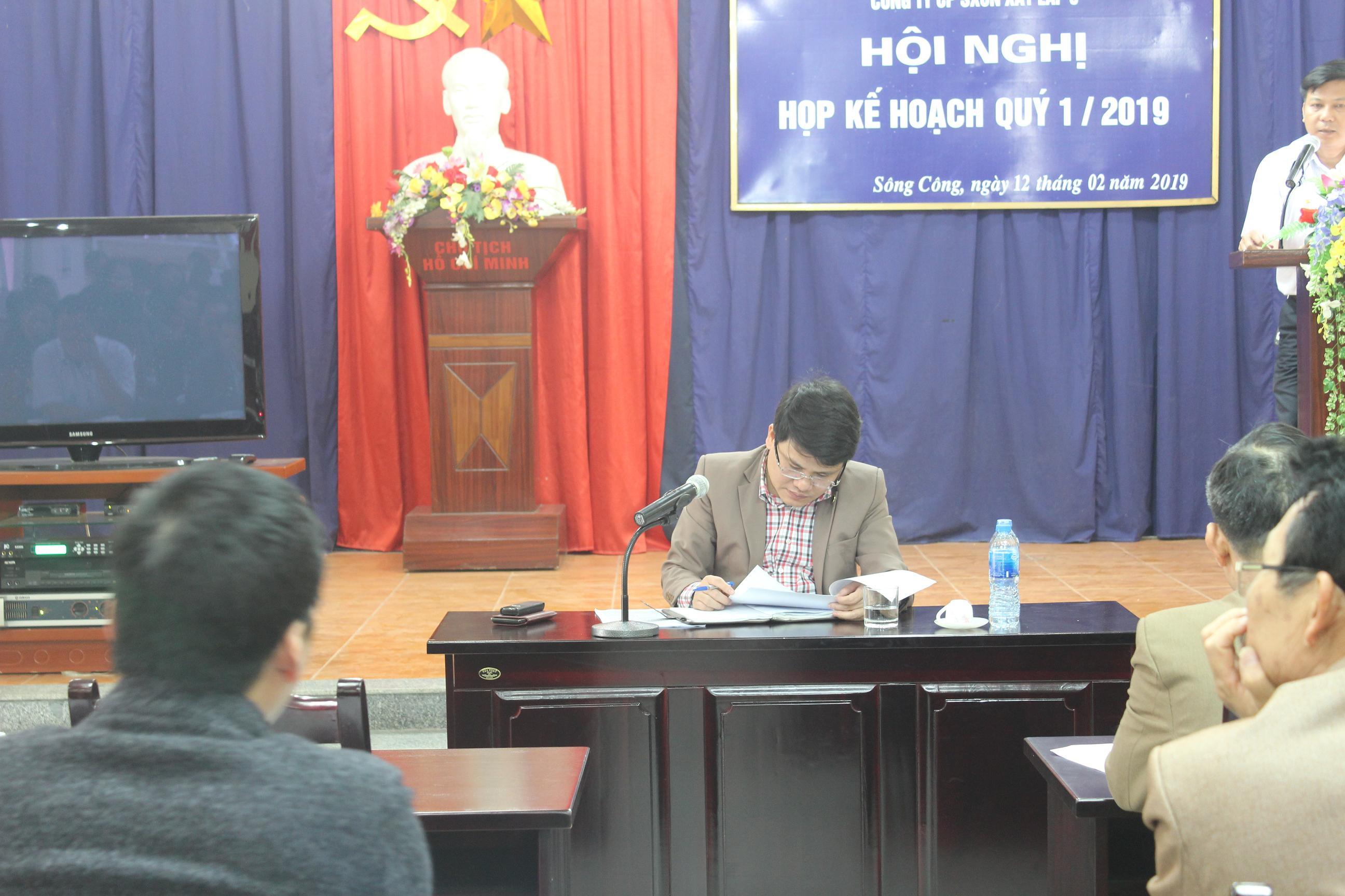 Hội nghị kế hoạch quý 1 năm 2019